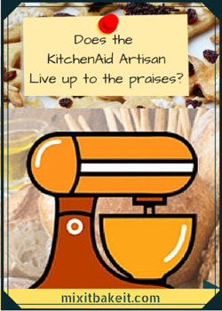 kitchenaid artisan 5-quart mixer
