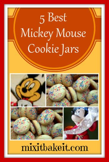 best collectible mickey mouse cookie jars